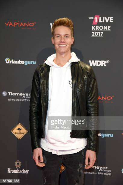 ConCrafter attends the 1Live Krone radio award at Jahrhunderthalle on December 7 2017 in Bochum Germany