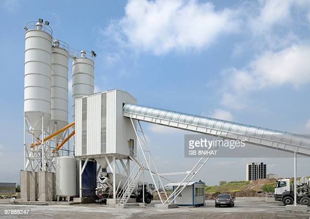 concrete and cement plant