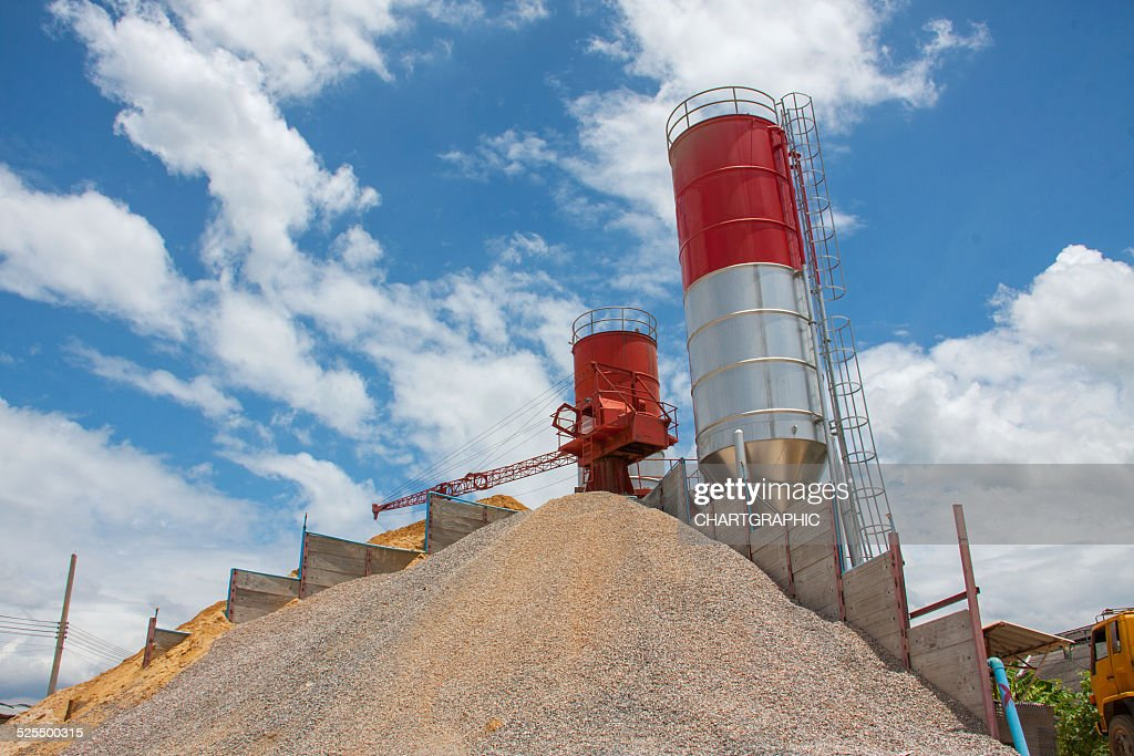 Concrete Batching Plant Stock Photo - Getty Images
