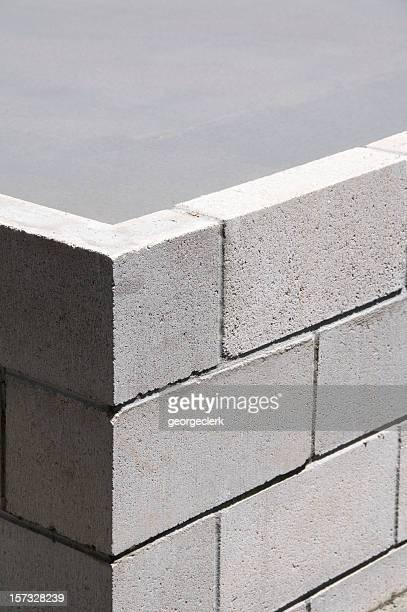 Concrete Block Ecke