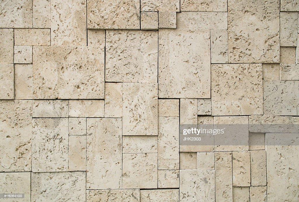 Concrete brick block wall background texture : Stock Photo