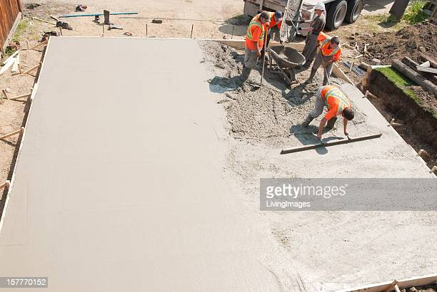 concrete crew - concrete stock pictures, royalty-free photos & images
