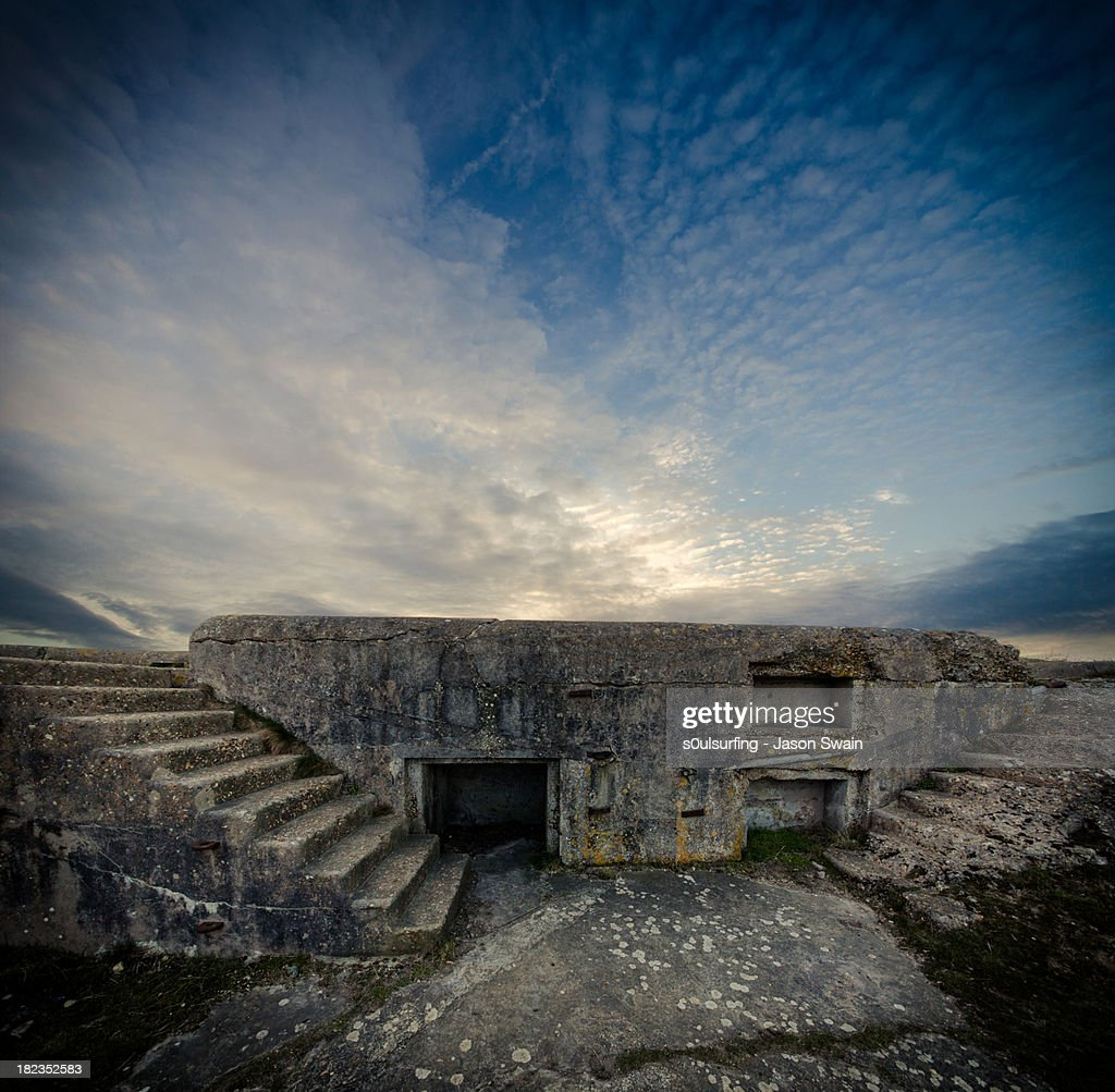 Concrete Defence : Stock Photo