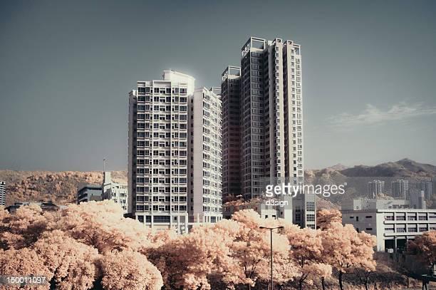 Concrete highrise buildings