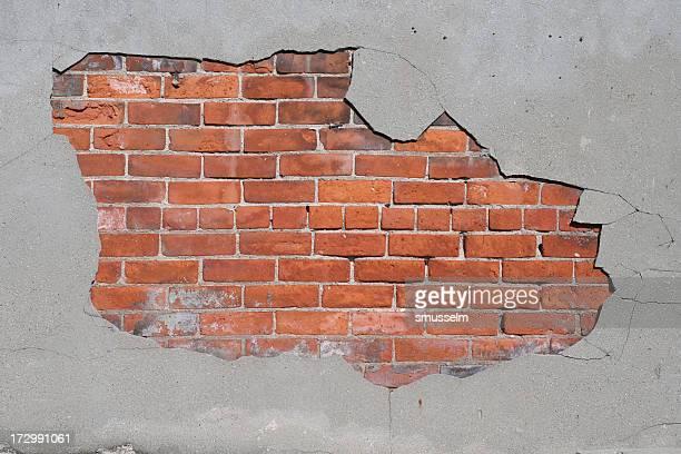 Empiècement en béton offre pour brique