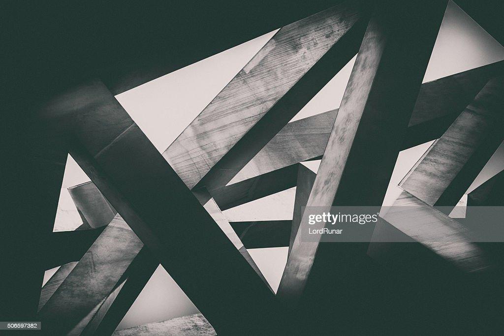 Concrete pillars : Stock Photo