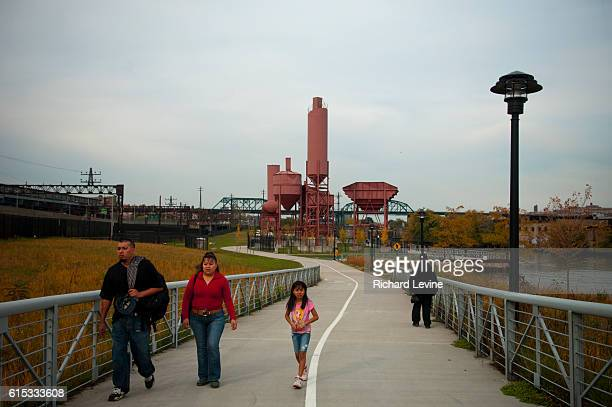 Concrete Plant Park along the Bronx River in the New York borough of the Bronx is seen on Sunday October 24 2010 A recent study found that the Bronx...