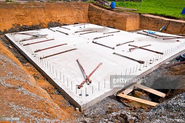Concrete Slab for a new Home