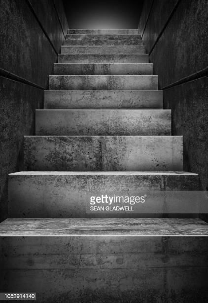 concrete stairs - steps and staircases stock pictures, royalty-free photos & images