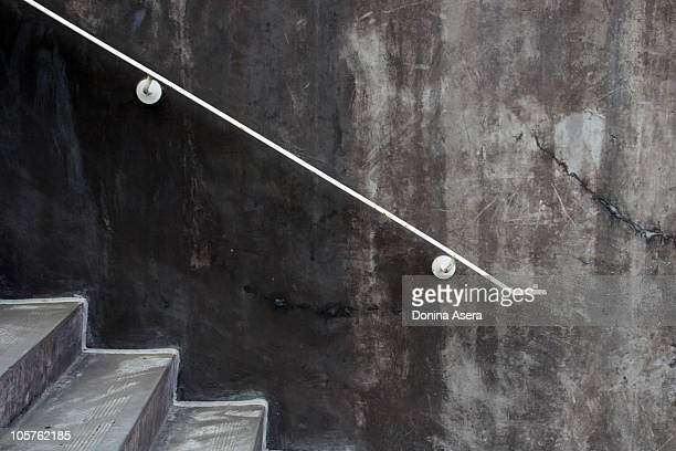 concrete steps - railing stock pictures, royalty-free photos & images