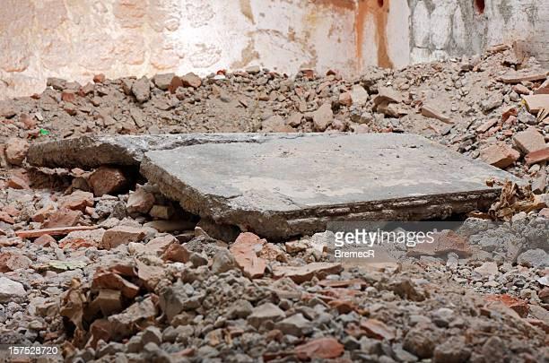 コンクリートのテーブル
