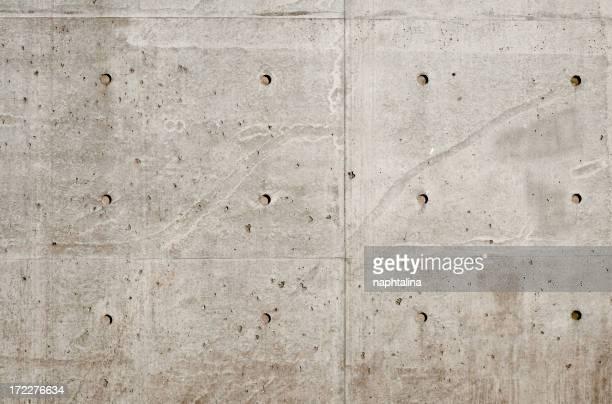 Concrete wall, architectural photo