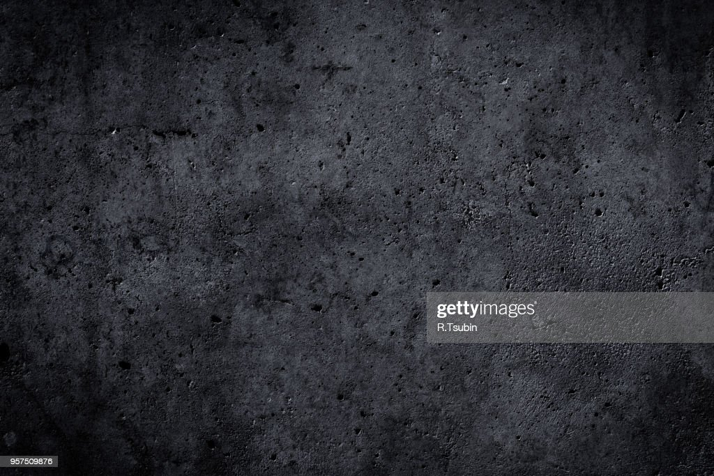 concrete wall background texture with dark edges : Stock Photo