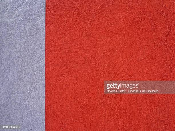 concrete wall painted in red and gray with rough texture in porto - surrounding wall stock pictures, royalty-free photos & images