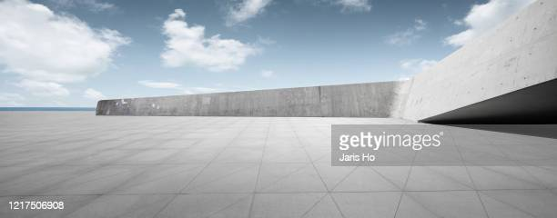 concrete wall parking lot - parking stock pictures, royalty-free photos & images