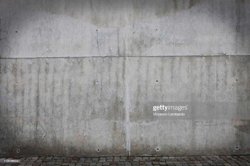 Concrete Wall : Photo