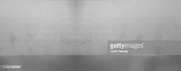 concrete wall - panoramic stock-fotos und bilder