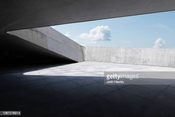 concrete wall - cement stock pictures, royalty-free photos & images