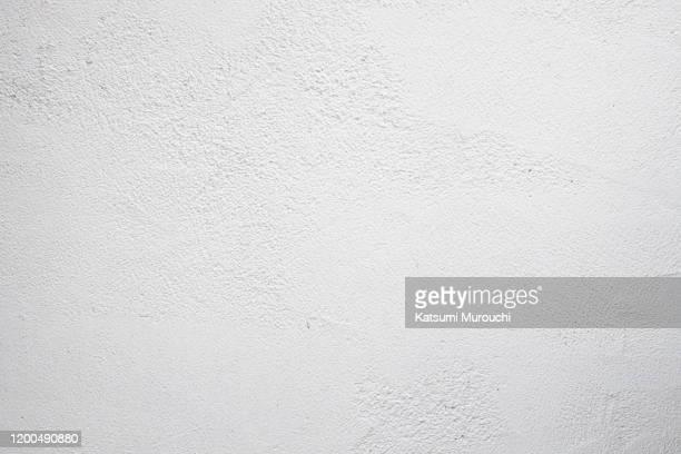 concrete wall texture background - white color ストックフォトと画像