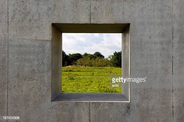 Concrete window