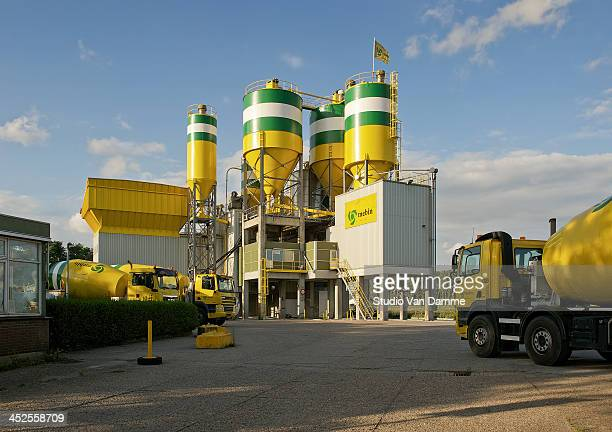 CONTENT] Concrete/cement plant in Europoort Rotterdam industrial area the Netherlands