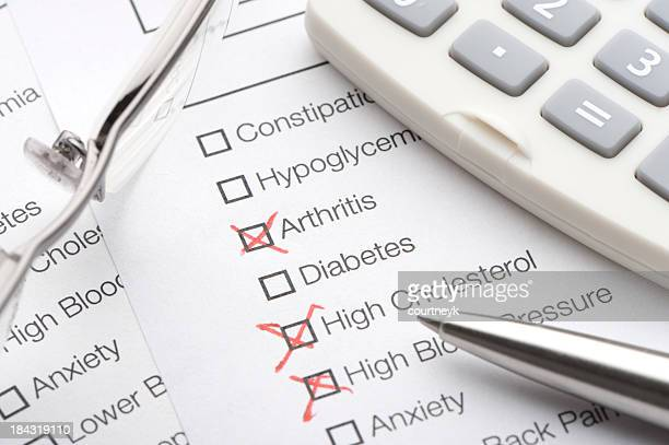 Condiciones de prueba médica