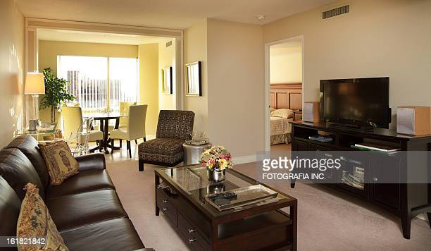 condo rental in toronto - man cave stock pictures, royalty-free photos & images