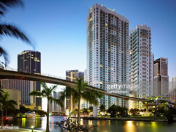 Condo Towers on Miami River
