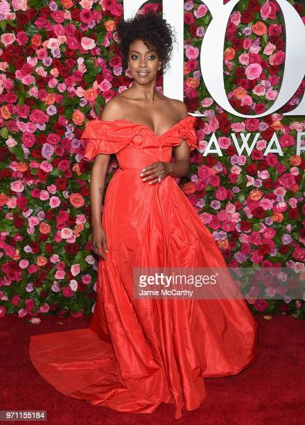 Condola Rashad attends the 72nd Annual Tony Awards at Radio City Music Hall on June 10 2018 in New York City