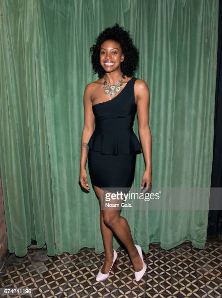 Condola Rashad attends the after party for Lucas Hnath's 'A Doll's House Part 2' opening night starring Laurie Metcalf and Chris Cooper at Golden...