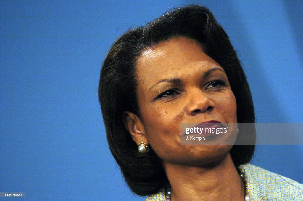 U.S. Secretary of State Condoleezza Rice Joins NYC Mayor Bloomberg at Send-Off