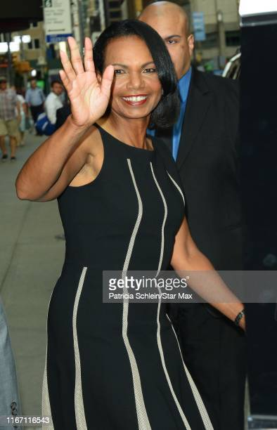 Condoleezza Rice is seen on September 9 2019 in New York City