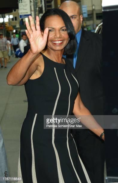 Condoleezza Rice is seen on September 9, 2019 in New York City.