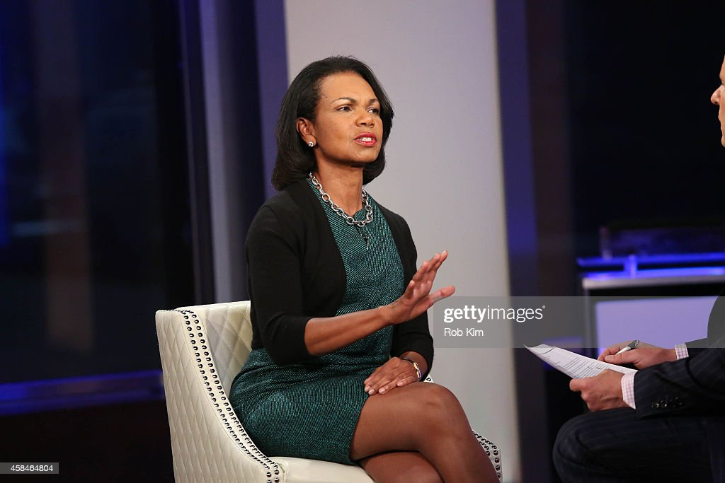 "Condoleezza Rice Visits ""FOX And Friends"""