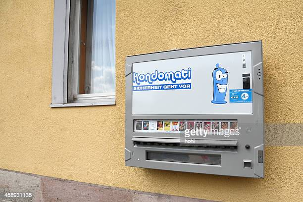 condom automat in germany - condom box stock pictures, royalty-free photos & images