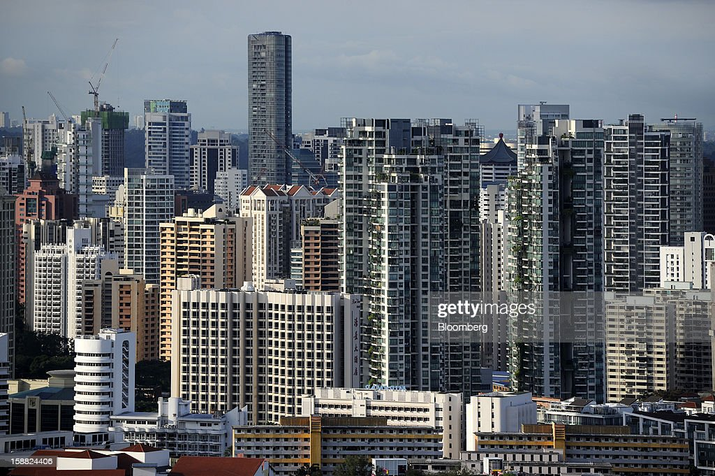 02d94cb338 Condominium blocks stand in the district of Orchard Road in... News ...