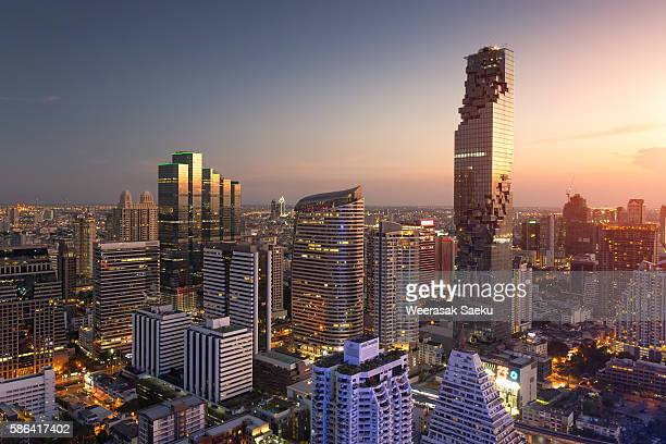 condominium in Bangkok city downtown
