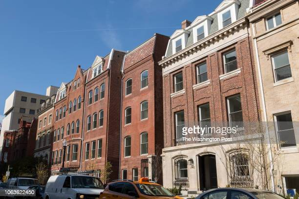 Condominiums on October 31 2018 in Washington DC 1745 N is the building with the 1745 address and the building to the West of it