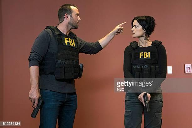BLINDSPOT Condone Untidiest Thefts Episode 205 Pictured Sullivan Stapleton as Kurt Weller Jaimie Alexander as Jane Doe