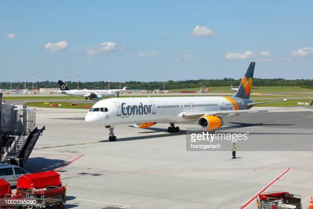 Condor Boeing 757 at Hamburg International Airport