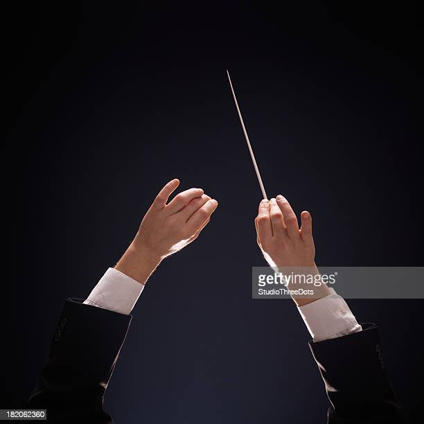 conducting buttons - maestro stock photos and pictures