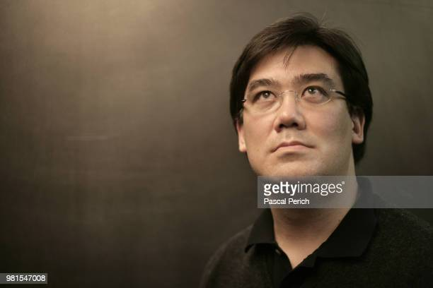 Conductor Alan Gilbert is photographed on May 2 2008 in Brooklyn New York