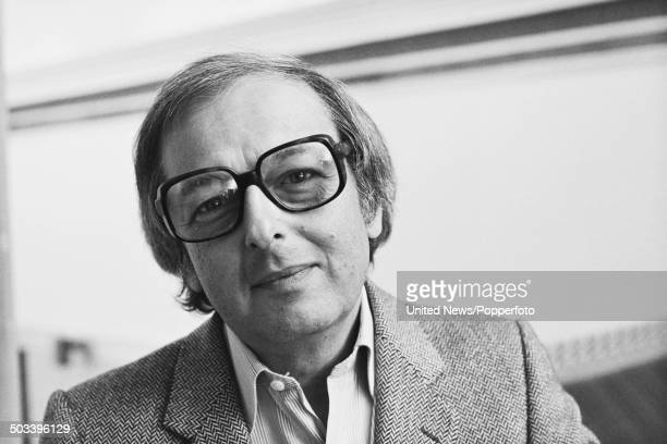 Conductor and composer Andre Previn pictured in London on 26th September 1984