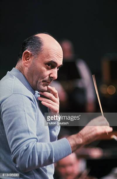 Conductor and pianist Gerog Solti.
