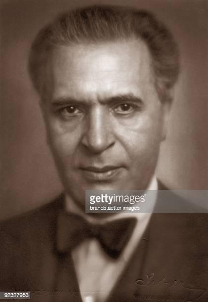 Conductor Bruno Walter Photograph around 1935