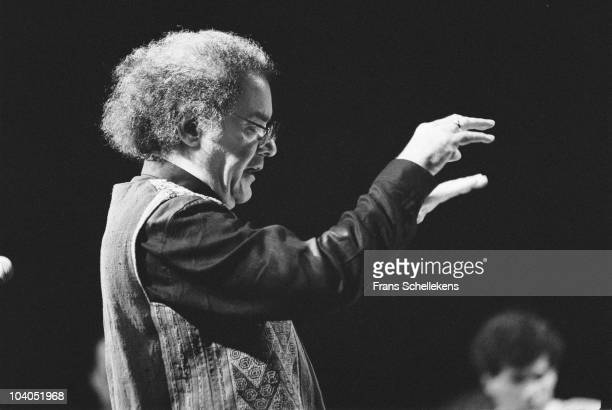Conductor composer George Russell performs on stage at Beurs Berlage on July 9 1990 in Amsterdam, Netherlands.