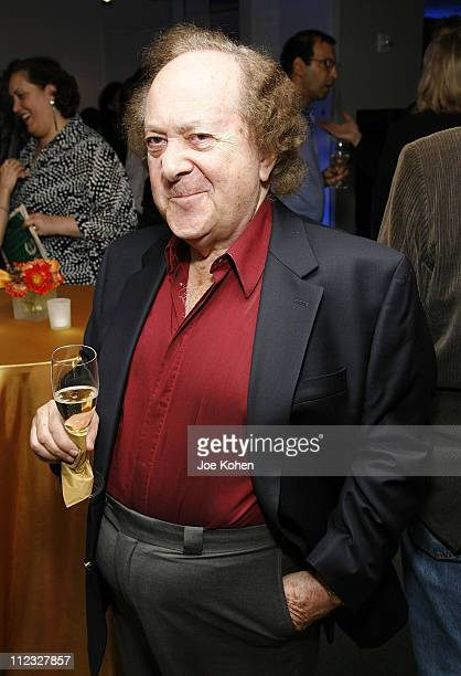 Conductor Jose Serebrier of Warner Classics attends the New York Chapter of the National Academy of Recording Arts and Sciences Open House Reception...