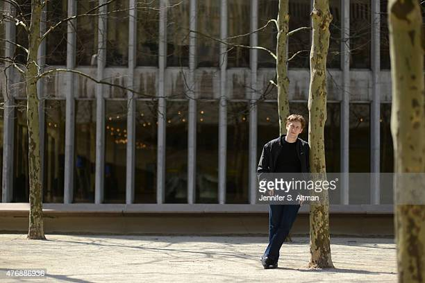 Conductor Joshua Weilerstein is photographed for Los Angeles Times on April 7 2015 in New York City