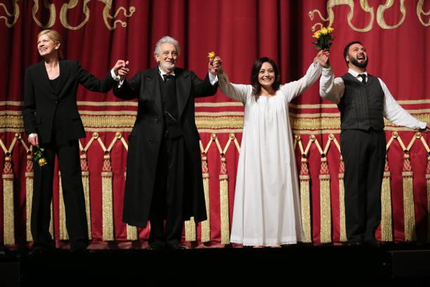 "DEU: Placido Domingo Performs ""La Traviata"" At Staatsoper Munich"