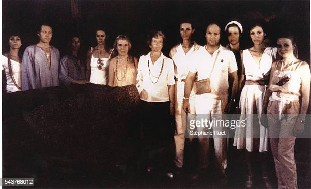 Conductor Michael Tabachnik stands fourth from right with members of the Order of the Solar Temple which he cofounded He was indicted for complicity...